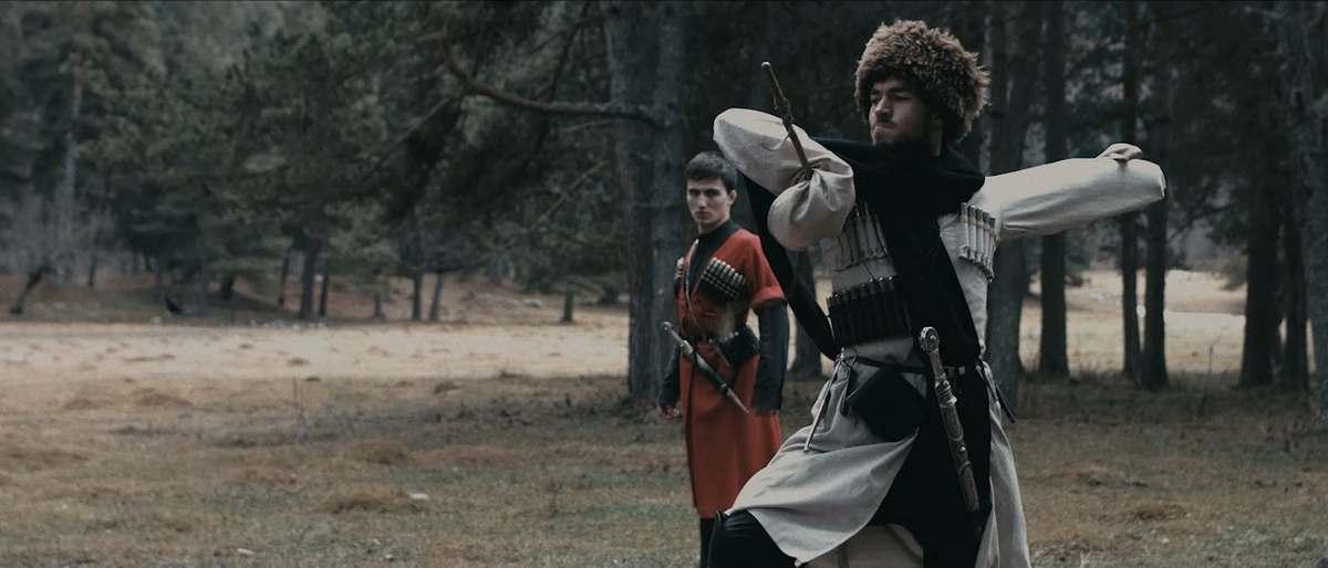 Кадры со съемок клипа. Исмаил Хаджимов - князь.