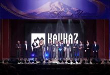 The premiere of the video version of the solo concert of Mussa Aybazov in Cherkessk