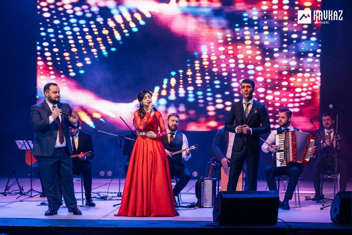 Концерт «Хъуромэ Джэгу». Артур Дышеков, Амина Даова, Муаед Маршенов, Арт-группа «Бзэрабзэ»