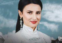 Оду любви родному краю и народу исполнила Оксана Хакулова